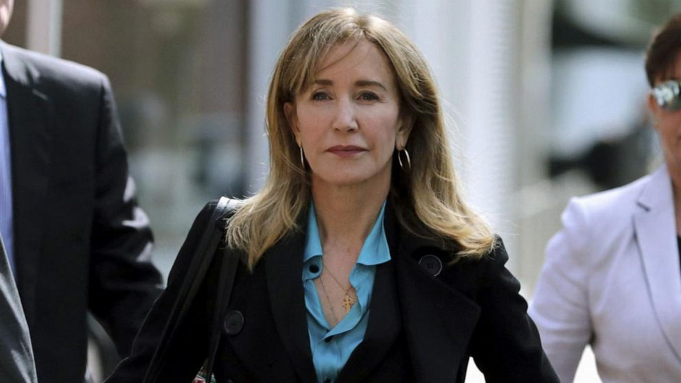 Felicity Huffman sentenced to 14 days in prison in 'Varsity Blues' case