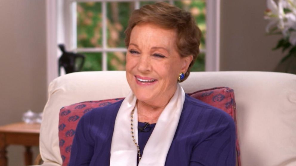 Julie Andrews talks about her start with 'Mary Poppins,' 'Sound of Music': Part 1