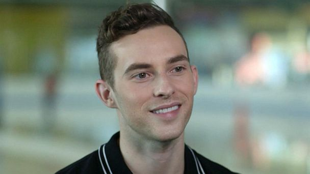 US Olympic figure skater Adam Rippon on learning to be comfortable in his own skin
