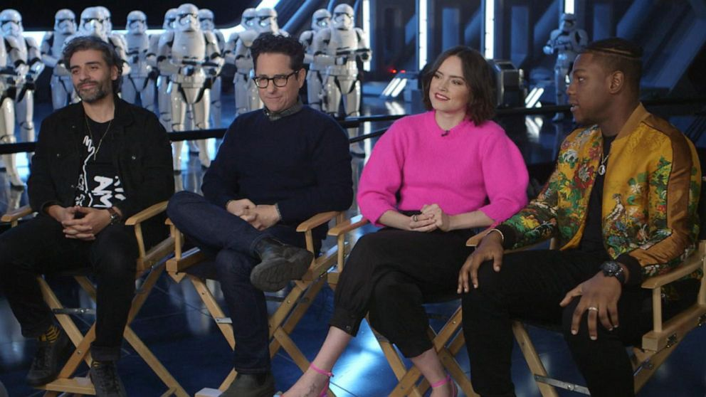 Star Wars The Rise Of Skywalker Stars Reflect On Filming The Saga S Conclusion And The Lessons They Learned Along The Way Abc News