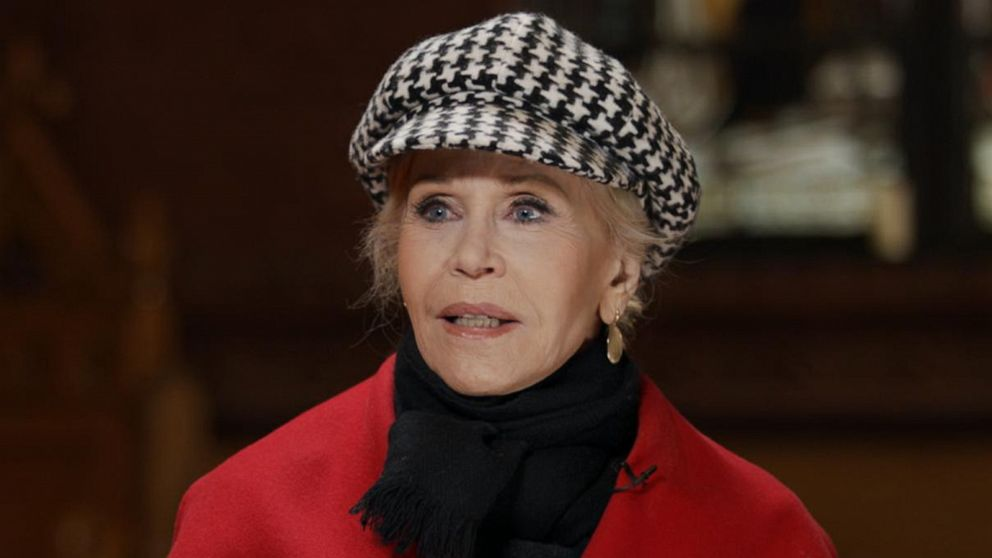 Jane Fonda on changing her lifestyle to combat climate change