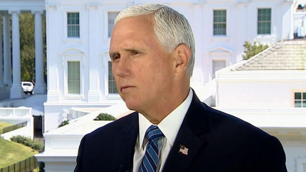 VP Pence discusses 200,000 COVID-19 death milestone, Supreme Court and race relations