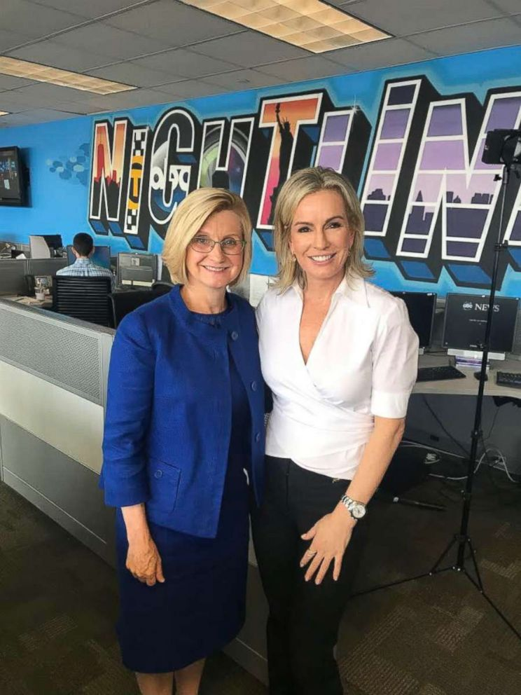 Dr. Jennifer Ashton, ABC News chief medical correspondent and a board-certified OB-GYN, is seen here with ACOG president Dr. Lisa Hollier.