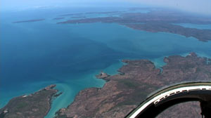 PHOTO The Kimberley is shown from above.