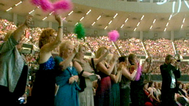 PHOTO:Roughly 6,000 women attended the the Mary Kay Cosmetics Career Conferences award nights in Dallas, Texas.