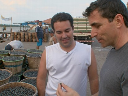 """VIDEO: """"Nightline"""" travels to the Amazon to investigate the fruit at its source."""