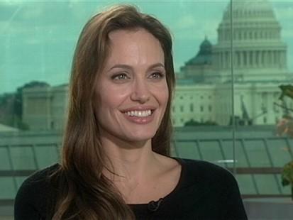 """VIDEO: Angelina Jolie on """"Nightline"""""""