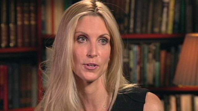 A Softer Side of Ann Coulter?