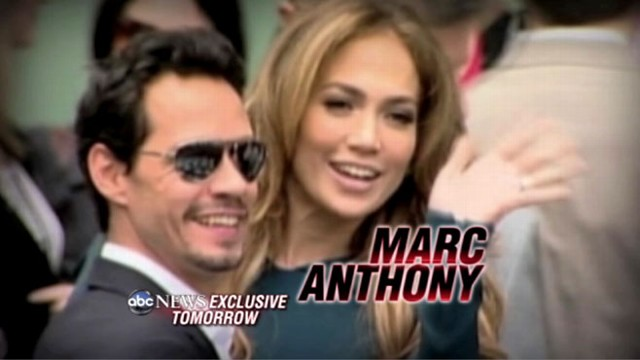 Marc Anthony And J Lo What Happened Video Abc News