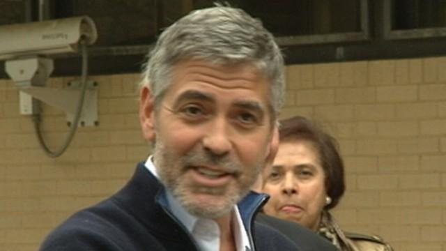Clooney, 'Kony' Filmmaker in Handcuffs