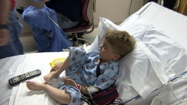 VIDEO: Months after Colter Meinart's first transplanted heart failed, he got another.