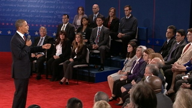 Obama vs. Romney: The Second Debate