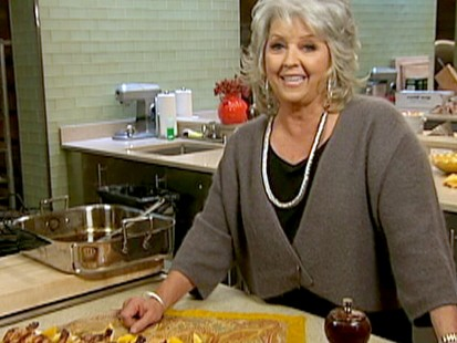 VIDEO: Food Network star Paula Deen shares some of her favorite Turkey Day recipes.