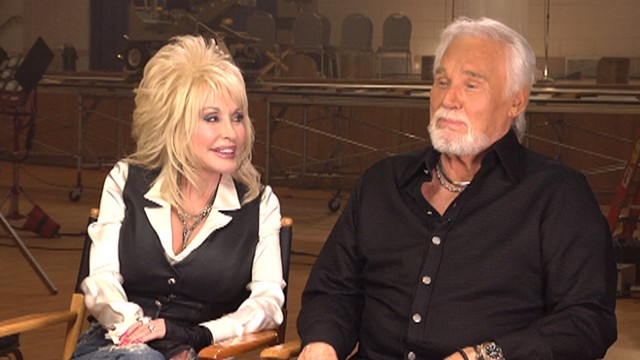 Dolly parton kenny rogers together again video abc news for What does dolly parton s husband do for a living