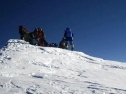 Treacherous Mountain Climbing