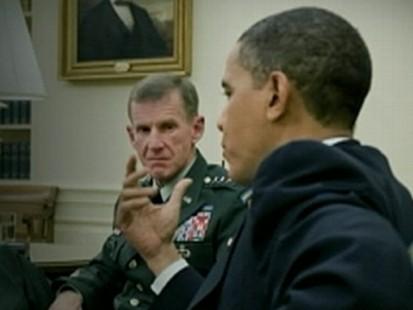 Gen. McChrystal Under Fire