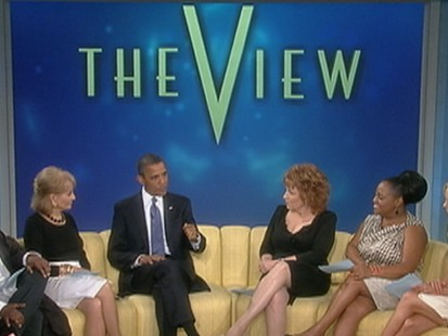 "President Obama: State of the ""View-nion"""
