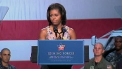 Michelle Obama on Helping Military Families