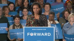 Michelle Obama on Role in Presidents Campaign