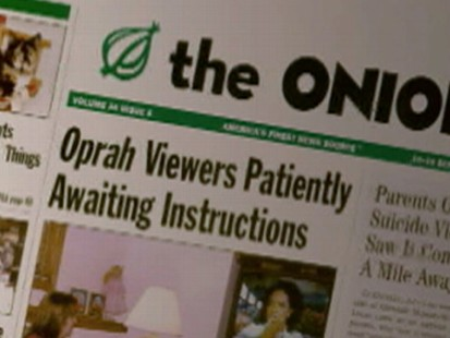 The Onion: Reporters of Funny