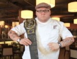Chef Graham Elliot Bowles writes the music that plays in his restaurant.