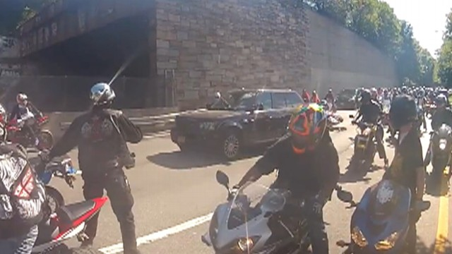 Road Rage Nyc Motorcycle