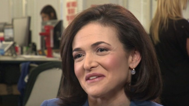 Sheryl Sandberg: Empowering the Young 'Lean In' Generation