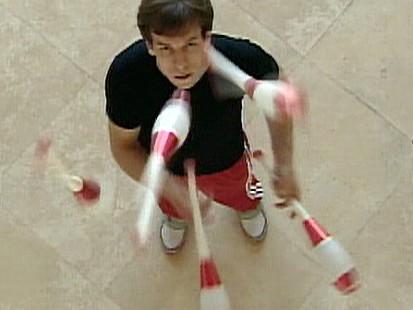Voda the Juggler