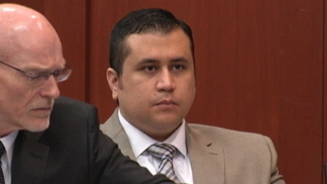 George Zimmerman Jury Sees Photos of Slain Trayvon Martin Lying in Grass