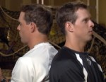 VIDEO: Bob and Mike Bryan are tennis doubles champs. Can they read each others minds?