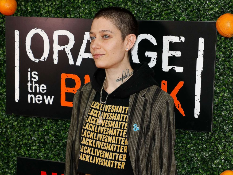 PHOTO: Asia Kate Dillon attends the Season 5 celebration of Orange is the New Black at Catch, June 9, 2017, in N.Y.