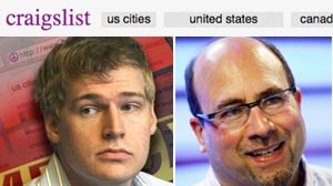 Craigs List founder, Craig Newmark and Markoff
