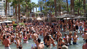 Vegas Hottest Party is Poolside