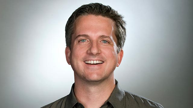 PHOTO: Seen here is Bill Simmons in a promo portrait for ESPN Inc.