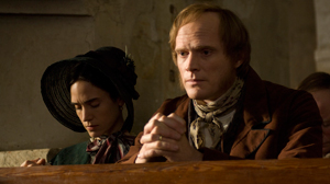 "PHOTO Jennifer Connelly and Paul Bettany are shown in a scene from Jon Amiels ""Creation."""