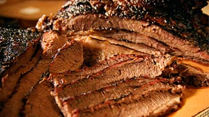 Photo: Beef brisket at New Yorkâ??s Hill Country.