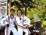 PHOTO Mike and Alanna Clear embarked on an extreme motorcycle trip across 16 countries to test their love.