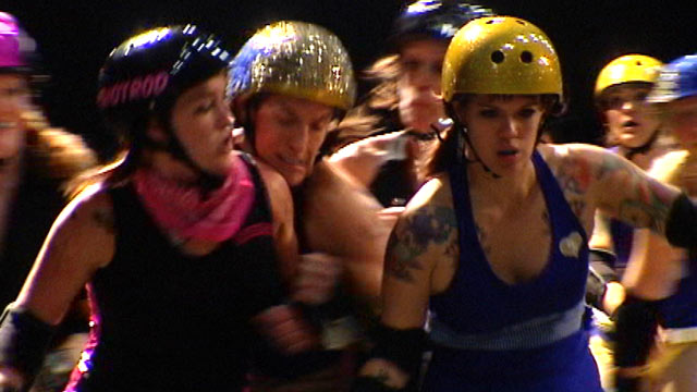 PHOTO: Roller derbys are making a strong comeback and Austin, Texas has become the also the center of modern-day roller derby.