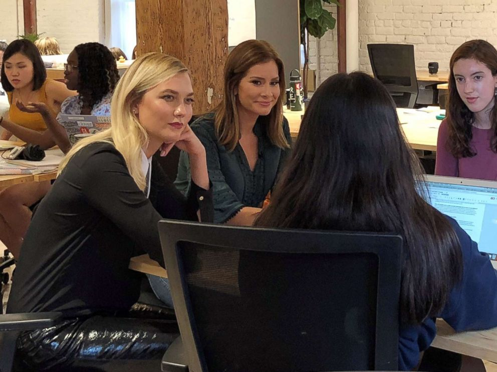Supermodel Karlie Kloss turns coding passion into a summer