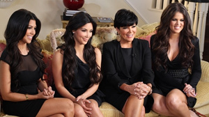 PHOTO The Kardashian clan, from left: Kourtney, Kim, Kris and Khloe sat down with ?Nightline? co-anchor Cynthia McFadden for an exclusive interview.