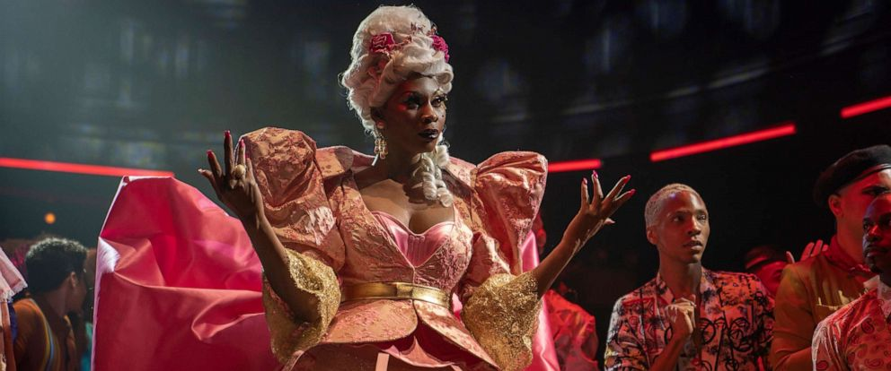 """PHOTO: In this undated photo, Dominique Jackson plays the role of Elektra in the show """"Pose"""" on FX Networks."""