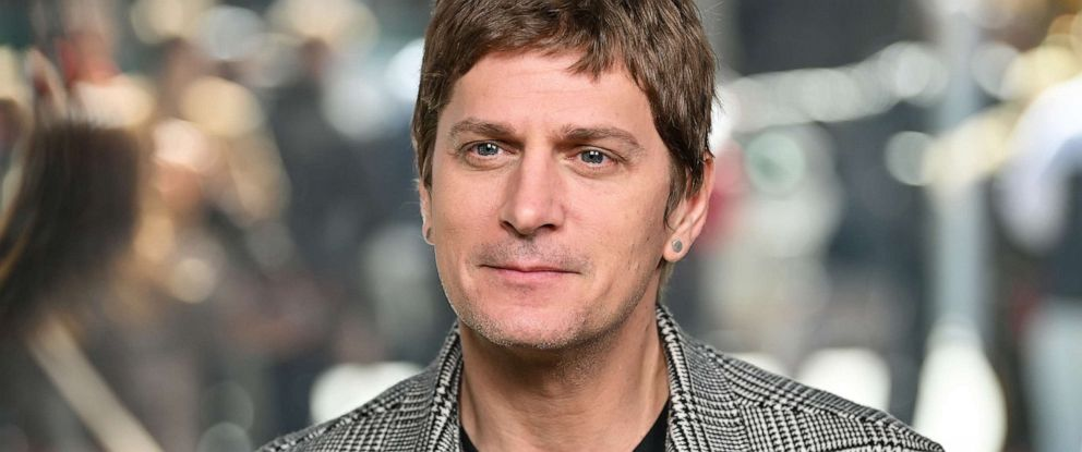 PHOTO: Musician Rob Thomas in Times Square on April 16, 2019 in New York City.
