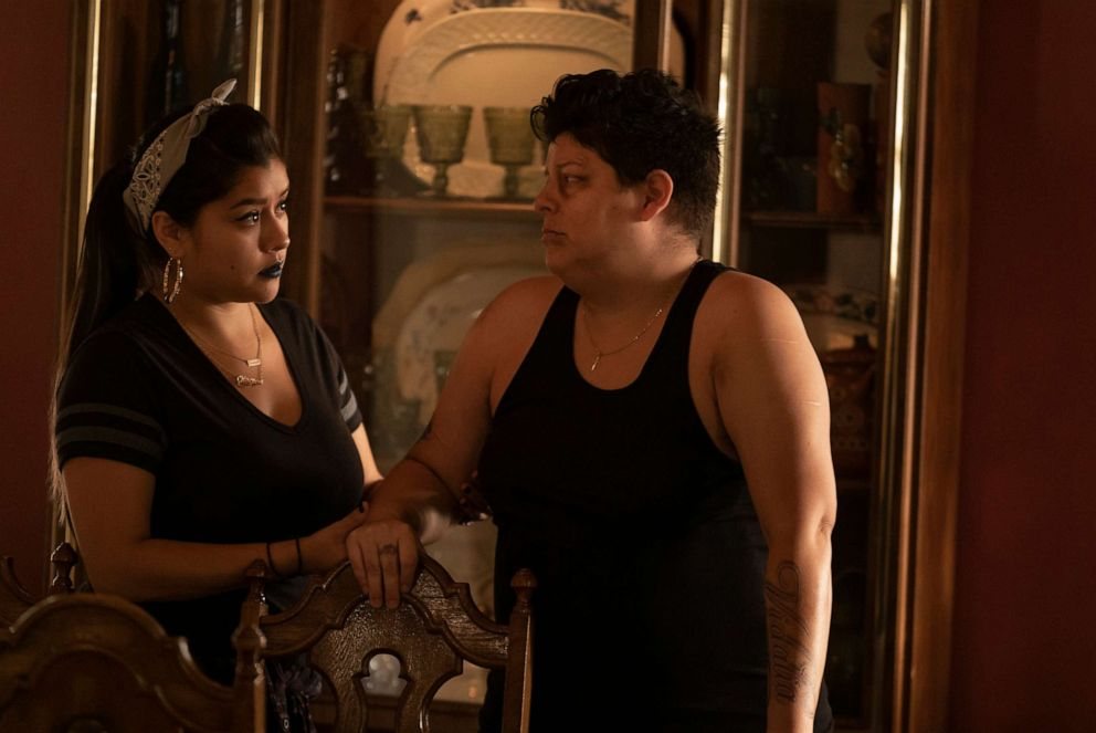 PHOTO: Chelsea Rendon and Ser Anzoategui appear in the second season of the Starz show, Vida.