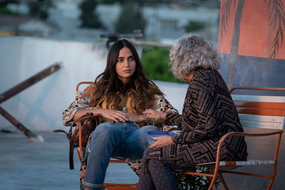 PHOTO: Melissa Barrera and Renee Victor appear in the second season of the Starz show, Vida.