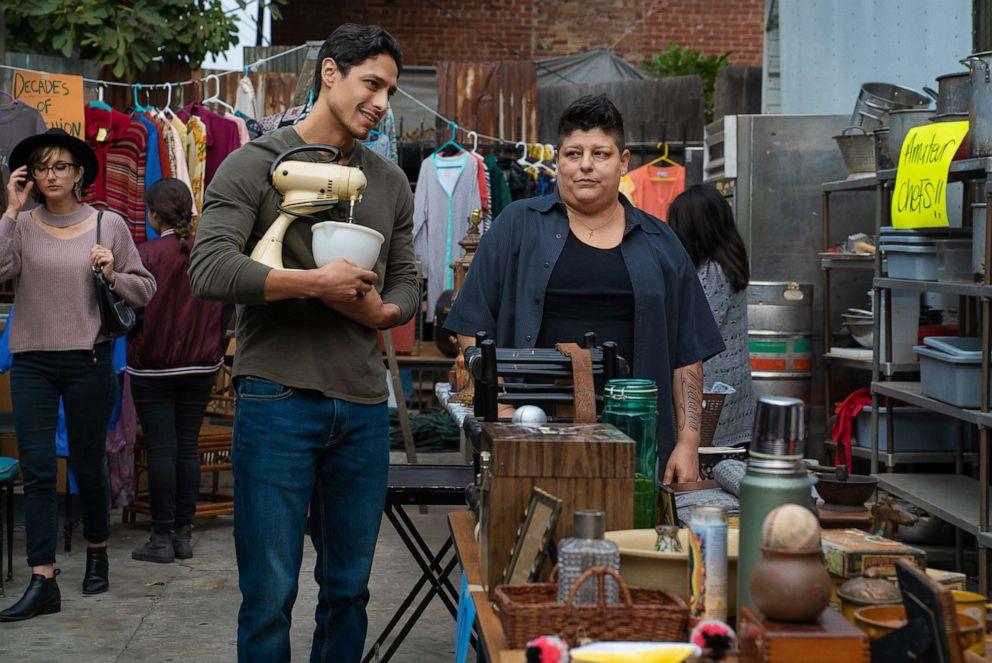 PHOTO: Carlos Miranda and Ser Anzoategui appear in the second season of the Starz show, Vida.