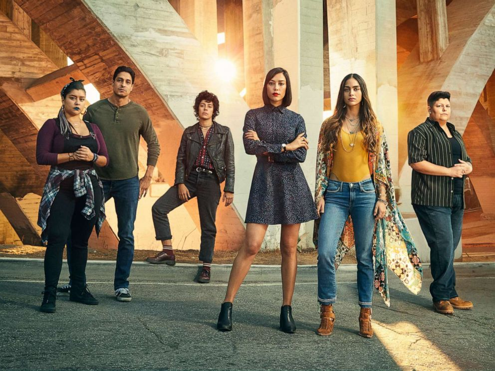 PHOTO: The cast of the Starz show, Vida, poses for a promotional image.
