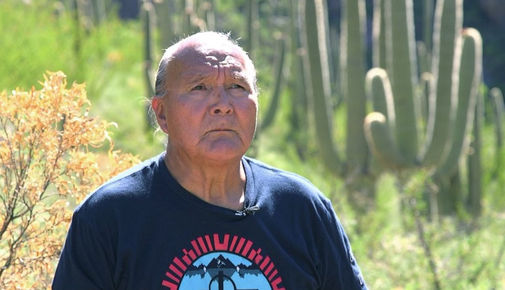 PHOTO: Tribal elder David Garcia told ABC News the business of drug and human smuggling has ensnared many tribal members.