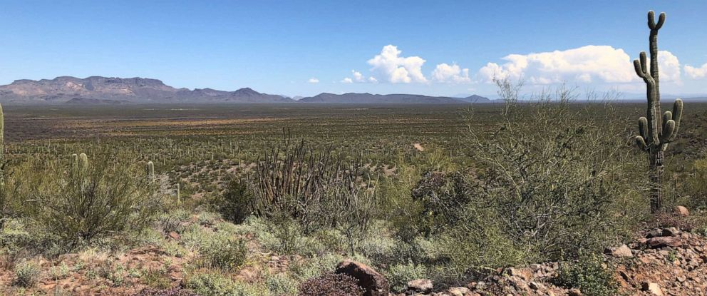 PHOTO: The Tohono Oodham Nation occupies an area of southern Arizona that is roughly the size of Connecticut.