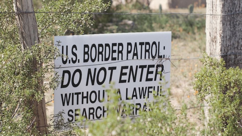 PHOTO: The constant presence of federal law enforcement on the reservation has created deep resentment among some tribal members.