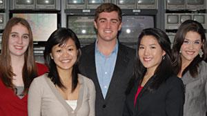 Photo: The ABC News on Campus spring 2011 University of Florida bureau.